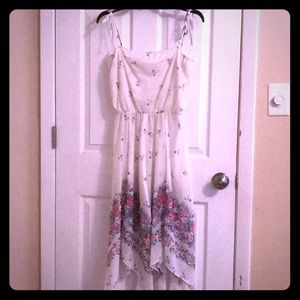 Sheer Summer Vintage floral dress